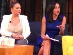 Radio Personality Angie Martinez and Entertainment Weekly Correspondent Nina Terrero
