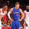 Houston Rockets Players Dwight Howard, James Harden & Los Angeles Clippers Forward Blake Griffin
