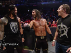Roman Reigns, Seth Rollins and Dean Ambrose WWE