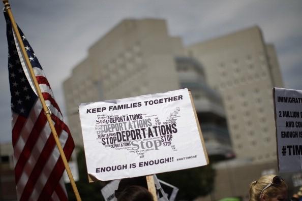 immigration protests deportation