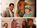 Victor Espinoza & American Pharoah Painting