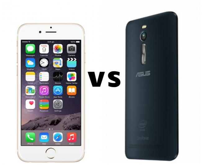 iPhone 6 vs ZenFone 2