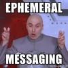 Dr. Evil air quote meme, Snapchat