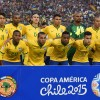 Brazil Team at 2015 Copa America