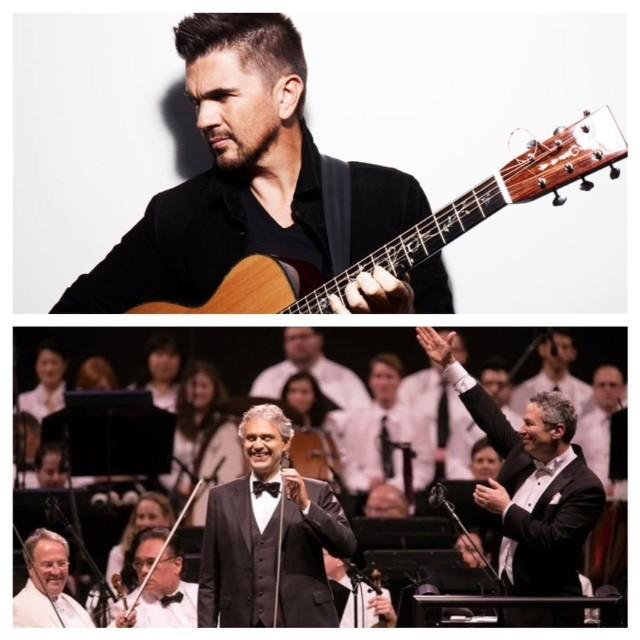 Juanes, Andrea Bocelli and The Philadelphia Orchestra