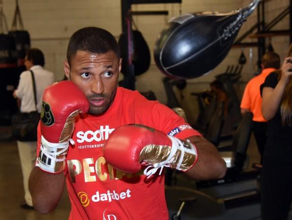 Boxing Champion Kell Brook