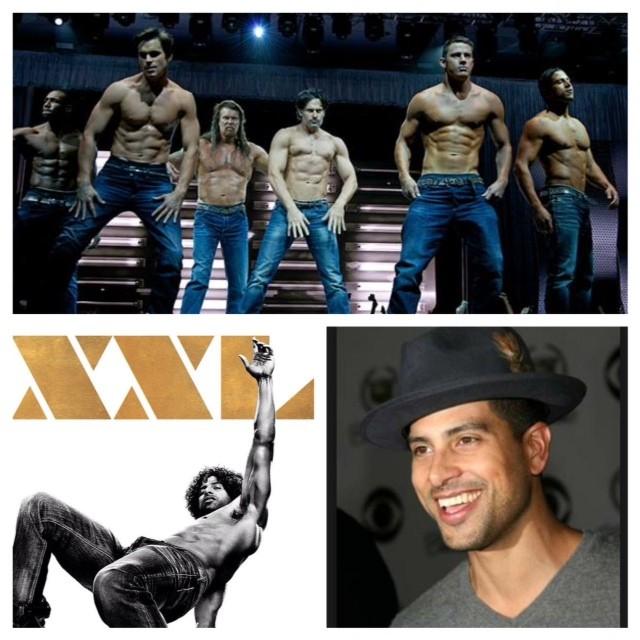 """Magic Mike XXL"" Star Adam Rodriguez"