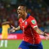 Chile Forward Alexis Sanchez