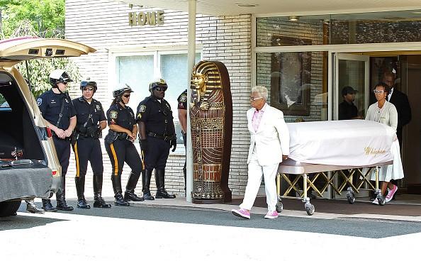 Bobbi Bristina Brown's body removed