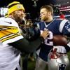 NFL Quarterbacks Tom Brady and Ben Roethlisberger