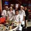 Mojito Restaurant & Bar Executive Chef Eddie Romero and his staff.