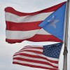 Puerto Rican and U.S. flags american