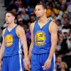 Golden State Warriors Guards Stephen Curry and Klay Thompson