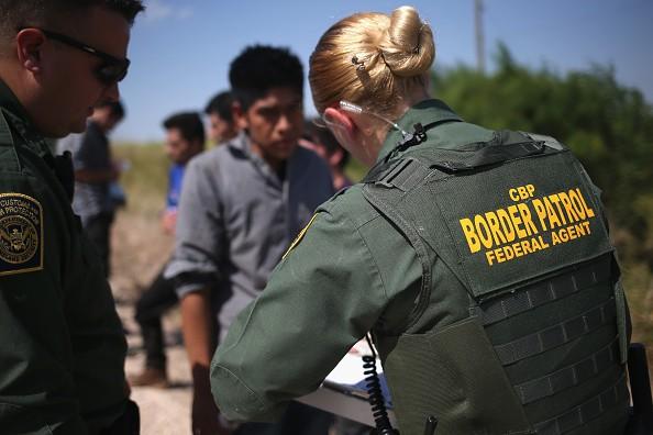 Customs And Border Protection Agents Patrol Near U.S.-Mexico Border