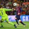 Lionel Messi and Manuel Neuer