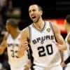 San Antonio Spurs Shooting Guard Manu Ginobili