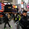 New York Police, New Year 2016