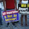 deportation deportations protests immigrants immigration
