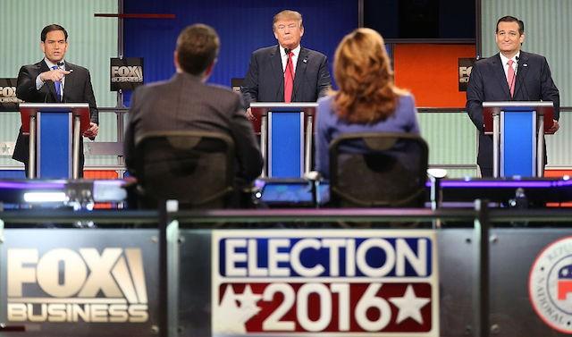 GOP Republican debate Marco Rubio Donald Trump Ted Cruz