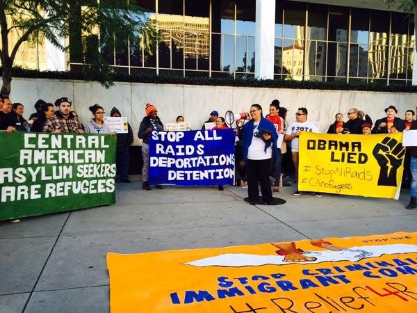 Protest Against The Deportation Raids